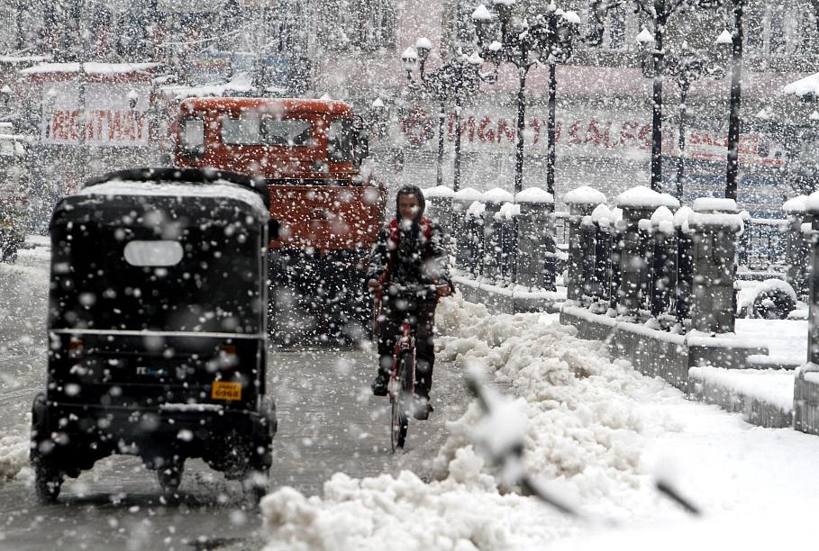 Сильный снегопад ожидается ввыходные вНижегородском регионе